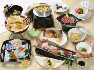 アヤハレークサイドホテル:*<グレードアップ会席>料理長おすすめ☆厳選食材を吟味!お部屋で味わう本格会席