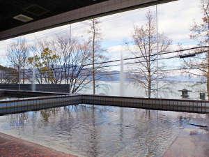 アヤハレークサイドホテル:*【男湯:大浴場】~熱海 伊豆山温泉~琵琶湖の大パノラマを一望できる大浴場!