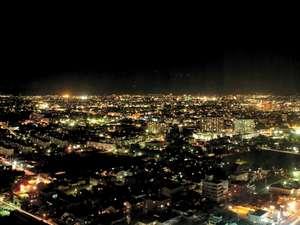 【ホテル】高層階から見える豊橋のステキな夜景!