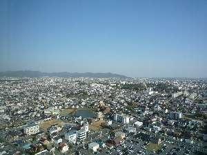 【ホテル】昼間の景色も見晴らしがグッド!