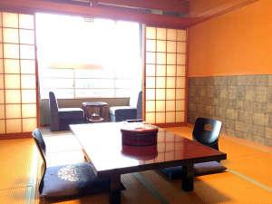 新鮮を食べる湯宿 大田家:リニューアル客室:海側和室、ウォシュレット付
