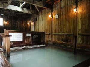 谷地温泉:大浴場