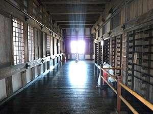 姫路城内部廊下