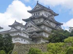 姫路城(改装前)改装後は←真っ白に♪