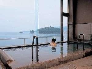 昇陽館:海に近いお風呂「亀寿の湯」