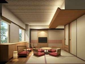 マウレ山荘:【コンフォート和室】写真はCGイメージです。