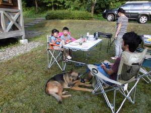 大館市ベニヤマ自然パーク:ペットと一緒に楽しいひと時
