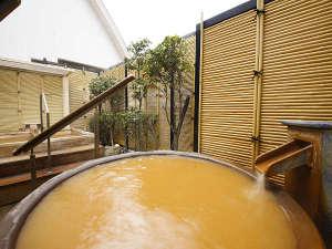 有馬温泉 御幸荘 花結び:露天風呂からは有馬温泉が一望できます。