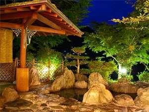 祖谷の宿 かずらや:★女性露天風呂★夜の静まりに耳を傾けながらの露天風呂