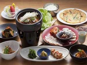 赤川温泉 スパージュ:久住高原で韓国家庭料理!自慢のキムチが無料おかわり!
