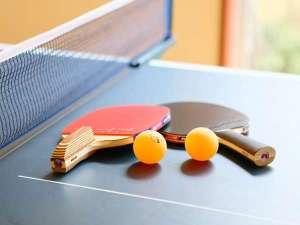 玉井別館:卓球コーナー お一組様30分無料(チェックイン後、受付)浴衣でお楽しみください♪