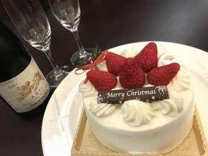 ケーキとシャンパンで素敵な記念日に!
