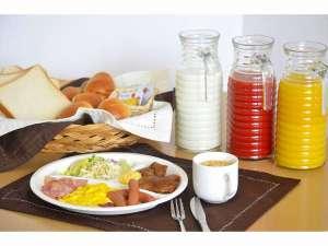 新前橋ターミナルホテル:有料朝食♪盛り付け例