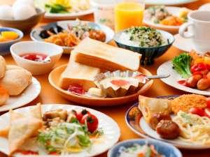 【朝食バイキングホッと落ち着く和食中心のバイキング/一例