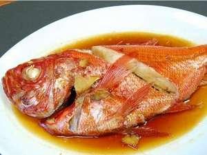 民宿つるさん:金目鯛の姿煮もつるさん自慢の一品☆