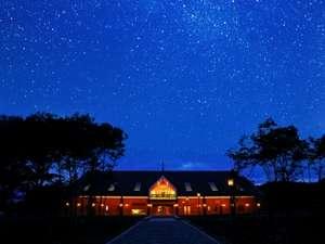 ホテル森の風 沢内銀河高原:銀河高原ホテルに満天の星空