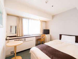 ひろしま国際ホテル:コンパクトにリーズナブルに♪プチセミダブルルーム☆