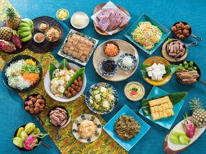 ベッセルホテル石垣島:石垣島の島ごはん!沖縄のご当地メニューも多く取り揃えております☆朝食をご堪能ください!