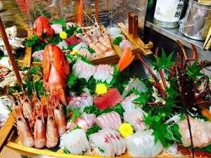 漁師の宿 太郎:伊勢海老入り