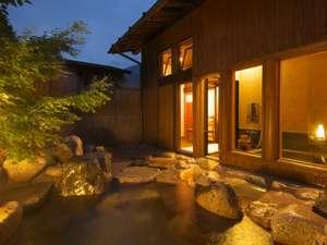 郷夢の宿 山ぼうし:2009年6月にリニューアルオープンした貸切露天風呂『蔵の湯』