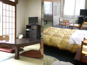 シーサイドホテル九十九里:和室・和洋室一例