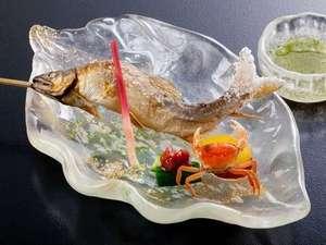 鮎の塩焼き(一例)