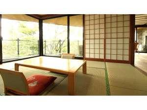 裏磐梯五色沼天然温泉源泉かけ流し貸切風呂の宿ときわすれ:和室からのお部屋の眺め
