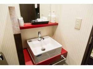 ビジネスインナンバ:洗面所です。アメニティも揃ってます♪
