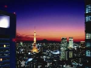 東京タワー側の眺望(イメージ)