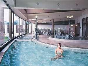 ラ・フランス温泉館 ホテル湯楽々:広々とした洋風大浴場