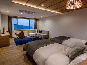 KIKI知床 ナチュラルリゾート:スカンジナビアの白を貴重としたツインルーム(洋室)