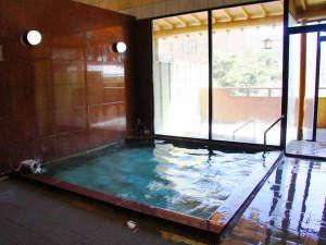 霊泉寺温泉 和泉屋旅館:*大浴場(男性)/24時間入浴OK!天然温泉を好きなだけご堪能いただけます。