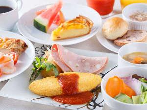 三井ガーデンホテル京橋:地養卵のオムレツ