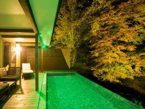旅籠 彩くら:プライベート温泉プール付き川沿いヴィラ【関山 kanzan】