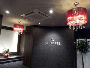 アイホテル横浜:シャンデリア2