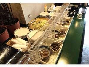 湯の宿 花小道:サービス朝食(ミニバイキング)