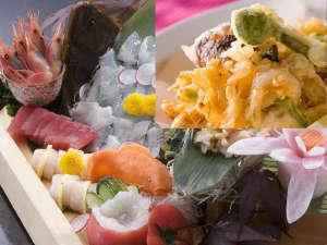 富山湾の「新鮮な海の幸」と「海老の旨さが凝縮された白海老のかき揚げ」