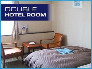 宇部ステーションホテル:デュヴェテイストタイプの寝具[丸八真綿]で快適な睡眠/ダブルベット[FranceBed]