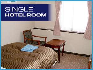 宇部ステーションホテル:セミダブルベット[FranceBed]に最高級羽毛布団[丸八真綿]の上質な寝心地