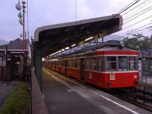 【交通】真っ赤な箱根登山鉄道♪