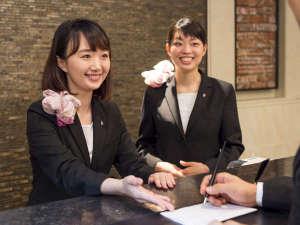 ヴィラフォンテーヌ神戸三宮:【旅のお手伝い】何かお困りの際は24時間対応のフロントスタッフまで!