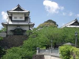 ホテルエコノ東金沢:金沢城