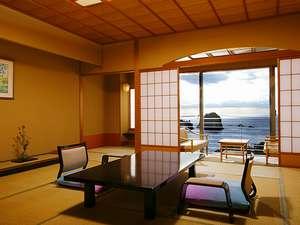 堂ヶ島 ニュー銀水:【海側和室南棟14.5畳】ワンランク上のお部屋で優雅なひと時