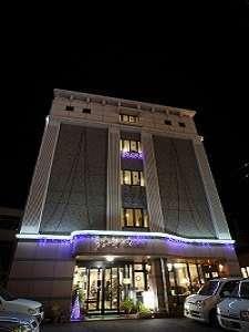 ビジネスグリーンホテル八日市 外観