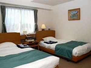 客室例:洋室・ツインルーム