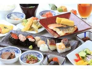 バラエティ豊富な和食をご準備しております♪※内容は季節により変更になる場合がございます。