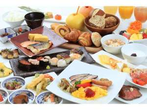 80種類以上の豊富なお食事をご準備しております♪※内容は季節によって変更する場合がございます。