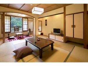 黒川温泉 やまびこ旅館:和室1間一例