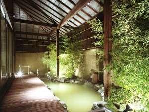 洞爺湖温泉 洞爺山水ホテル和風:◆灯心の湯-露天風呂(男女入替制)