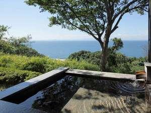 知多半島海のしょうげつ :客室露天風呂一例